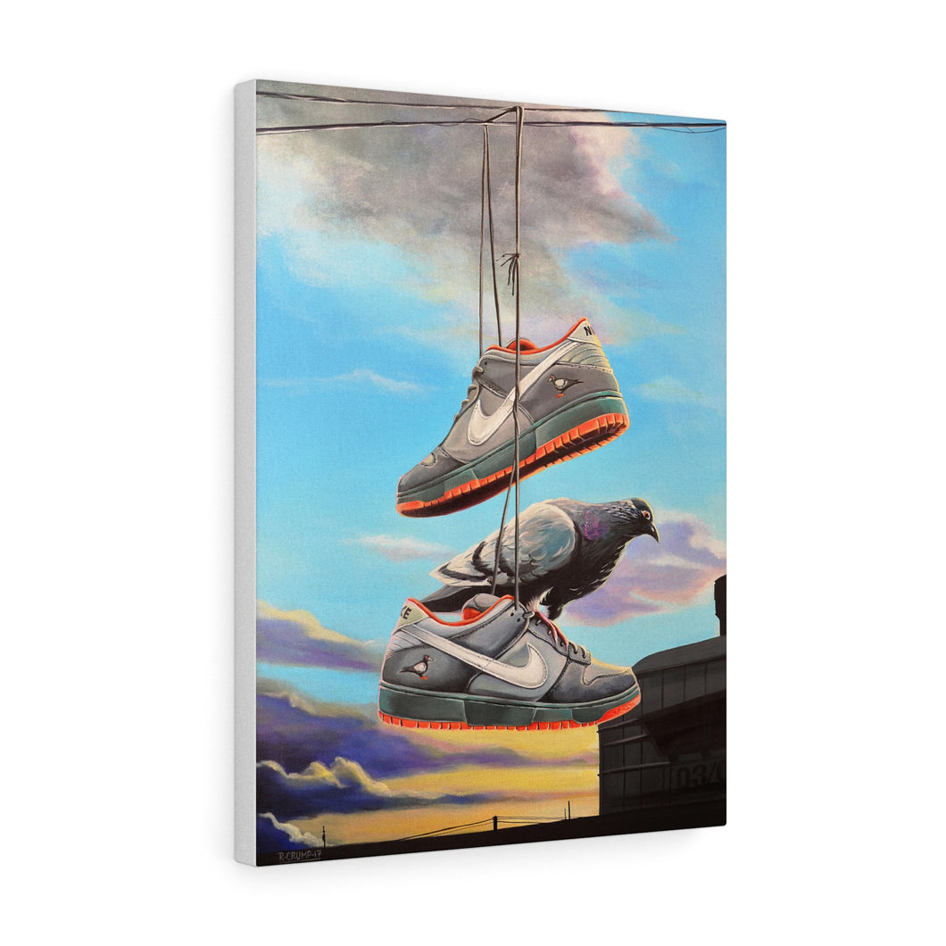 Canvas Print Nike SB Staple Pigeon Dunk Painting