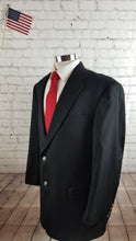 Hart Schaffner Marx Men's Black Blazer Sport Coat Suit Jacket 42L $895 - SUIT CHARITY OUTLET