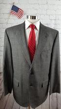 Jos A. Bank Gray Plaid Wool Suit 42R Pants 38X30 $749