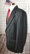 Jones New York Gray Check Suit 44R Pants 38X30 $479 - SUIT CHARITY OUTLET