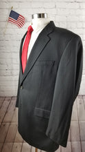 Ralph Lauren Black Stripe Suit 44L Pants 38X30 $579 - SUIT CHARITY OUTLET