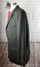 Jones New York Black Stripe Suit Jacket 46L $349 FREE VEST!!!