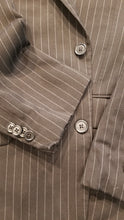 Tommy Hilfiger Black Stripe Wool Suit Jacket 40S $345