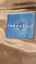 Towncraft BrownTextured Suit 46R Pants 38X28 $425 - SUIT CHARITY OUTLET