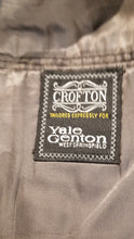 Crofton Gray Textured Suit 46R Pants 38X28 $395 - SUIT CHARITY OUTLET