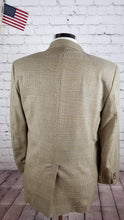Prestige Men's Brown Plaid Wool Blazer Sport Coat Suit Jacket Size 40R $295 - SUIT CHARITY OUTLET
