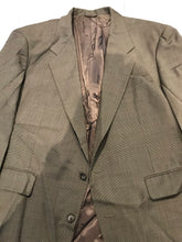 Gerald Austin Men's Gray Houndstooth Wool Blazer 48R - SUIT CHARITY OUTLET