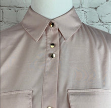 Ivanka Trump Women's Pink Solid Blouse Small - SUIT CHARITY OUTLET