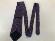 Brooks Brothers Men's Purple Polka Dot Silk Neck Tie - SUIT CHARITY OUTLET
