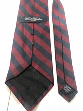 Brooks Brothers Men's Red Blue Striped Silk Neck Tie - SUIT CHARITY OUTLET