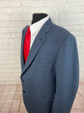 Anderson Little Men's Solid Blue Blazer 50L $225 - SUIT CHARITY OUTLET