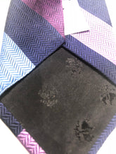 NEW NWT Brooks Brothers Men's Blue Purple Striped Silk Neck Tie - SUIT CHARITY OUTLET