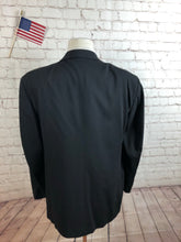 Enzo Men's Black WOOL Blazer Sport Coat Suit Jacket Size 46R $795 - SUIT CHARITY OUTLET