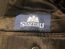 Stafford Men's Dark Gray Two Button Wool Blazer Sport Coat Suit Jacket 40R $215 - SUIT CHARITY OUTLET