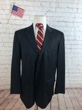 J. Crew Men's Black WOOL Blazer Sport Coat Suit Jacket Size 44R $295 - SUIT CHARITY OUTLET
