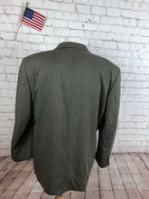 Jones New York Men's Brown Herringbone Blazer 48R - SUIT CHARITY OUTLET