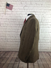 Jos. A. Bank Men's Brown 2 Button Wool Blazer Sport Coat Suit Jacket Size 40S $395 - SUIT CHARITY OUTLET