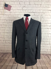 Hickey Freeman Gray 3 Button Men's Wool Suit Size 40R 34x29 $1,298 - SUIT CHARITY OUTLET