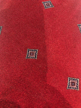 Brooks Brothers Men's Red Geometric Diamond Pattern Silk Neck Tie - SUIT CHARITY OUTLET