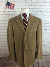 Andrew Fezza Men's Brown Corduroy Blazer Sport Coat Suit Jacket Size 42R $295 - SUIT CHARITY OUTLET