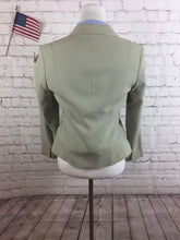 Talbots Women's Green 3 Button Skirt Suit Size 6 Waist 27 $328 - SUIT CHARITY OUTLET