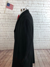 Calvin Klein Men's Black WOOL BLEND Winter Coat Jacket Size 46R $795 - SUIT CHARITY OUTLET