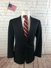 Chaps Men's Black Blazer Sport Coat Suit Jacket Size 38R $325 - SUIT CHARITY OUTLET