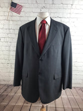 Stafford Men's Gray Striped Blazer Sport Coat Suit Jacket 46L $395