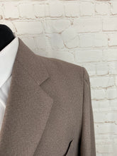 Anderson Little Men's Solid Beige Blazer 44R $225 - SUIT CHARITY OUTLET