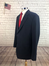 Brooks Brothers Men's Navy 2 Button Wool Blazer Sport Coat Suit Jacket Size 42L - SUIT CHARITY OUTLET