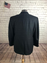 Jos. A. Bank Men's Gray Plaid 2 Button Blazer Sport Coat Suit Jacket Size 44S $435!!!