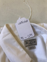 J Crew White Solid Cotton Dress Shirt 16-16.5 34/35 $98 - SUIT CHARITY OUTLET