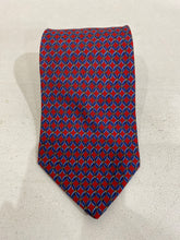 Brooks Brothers Men's Red/Blue Geometric Silk Tie $125 - SUIT CHARITY OUTLET