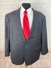 Stafford Men's Gray Plaid Wool Blazer 52L $225 - SUIT CHARITY OUTLET