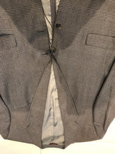 Hart Schaffner Marx Men's Gray Plaid Blazer 46R - SUIT CHARITY OUTLET