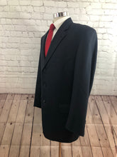 Joseph Abboud Men's Navy Wool Three Button Suit 42R 36X29 - SUIT CHARITY OUTLET
