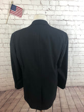 Eagle Men's Gray Stripe Suit Size 46L Waist 36 Inseam 29 $295
