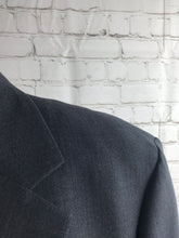 Brooks Brothers Men's Gray Solid WOOL BLEND Suit 44R Waist 36 Inseam 28 $895 - SUIT CHARITY OUTLET