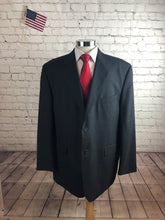 Stafford Men's Gray Wool Blazer Sport Coat Suit Jacket Size 48R $235 - SUIT CHARITY OUTLET