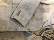 Tom James Men's Gray Plaid Wool Blazer Sport Coat Suit Jacket Size 48L $475 - SUIT CHARITY OUTLET