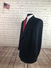 Joseph & Feiss Men's Black Two Button Blazer 42R - SUIT CHARITY OUTLET