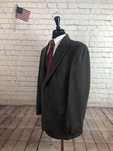 Strathmore Men's Brown Stripe WINTER Blazer Sport Coat Suit Jacket 44R $395 - SUIT CHARITY OUTLET