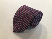 Brooks Brothers Men's Red Geometric Silk Neck Tie - SUIT CHARITY OUTLET