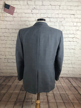 John Alexander Men's Gray 2 Button Blazer Sport Coat Suit Jacket Size 42R $285