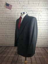 Nino Cerruti Men's Gray Stripe 2 Button 1 Vent Suit Size 44S 34x29 $295