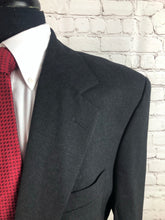 Nordstrom Men's Dark Gray Two Button Suit 44R 36X31 - SUIT CHARITY OUTLET