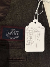 Custom Made Men's Brown Solid Suit 46R $254 - SUIT CHARITY OUTLET