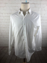 Alfani White Solid Slim Fit Dress Shirt 16-16.5 34/35 $78 - SUIT CHARITY OUTLET