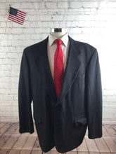 Oscar de la Renta Men's Black WOOL Blend Blazer Suit Jacket Sport Coat 46R $799 - SUIT CHARITY OUTLET