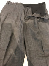 Brooks Brothers Men's Gray Plaid WOOL BLEND Suit 44R Waist 36 Inseam 29 $895 - SUIT CHARITY OUTLET
